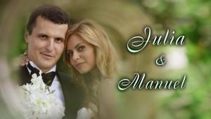 Сватбата на Юлия и Мануел